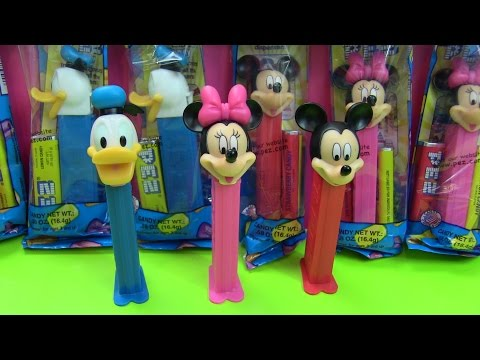 PEZ CANDY Micky Mouse, Minnie mouse, Donal Duck / KẸO PEZ Chuột Micky, Chuột Minnie, Vịt Donal