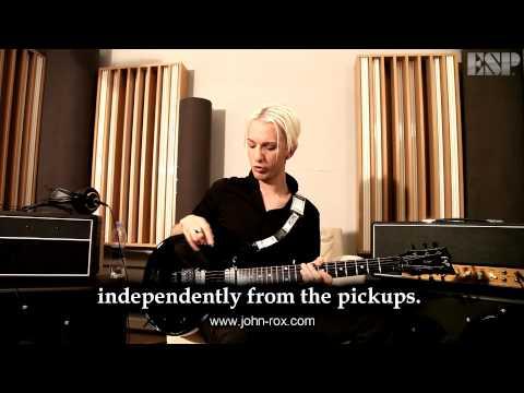 ESP Guitars: John Rox introduces the ESP JR Eclipse double cutaway