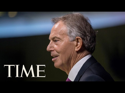 Tony Blair Returns To The Limelight With Bid To Reverse Brexit   TIME