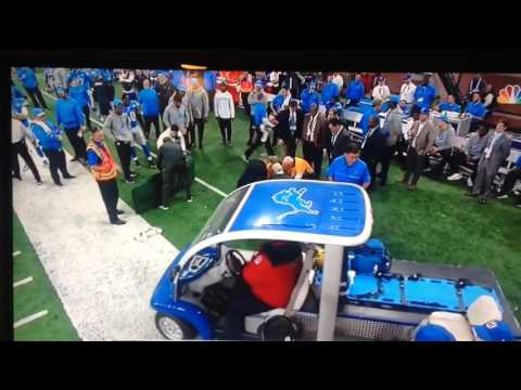 Quinten Rollins Neck Injury Carted off the field NFL players show Respect ( NFL Injuries )