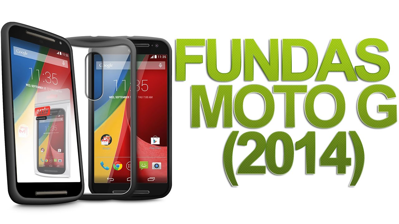 f0d022667cb Mejores fundas Motorola Moto G 2014: Orzly Fusion Case y FlexiCase. Review  [HD] - YouTube