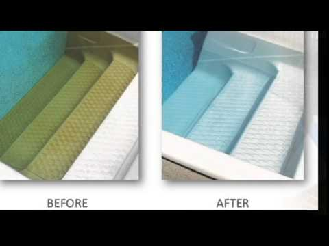 Pool Acid Wash Encino Dirty Plaster Cleaning Pebble Tec