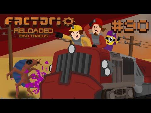 New Oil Setup 2 0 ⚙ Factorio Reloaded: Mad Tracks E90 - YouTube