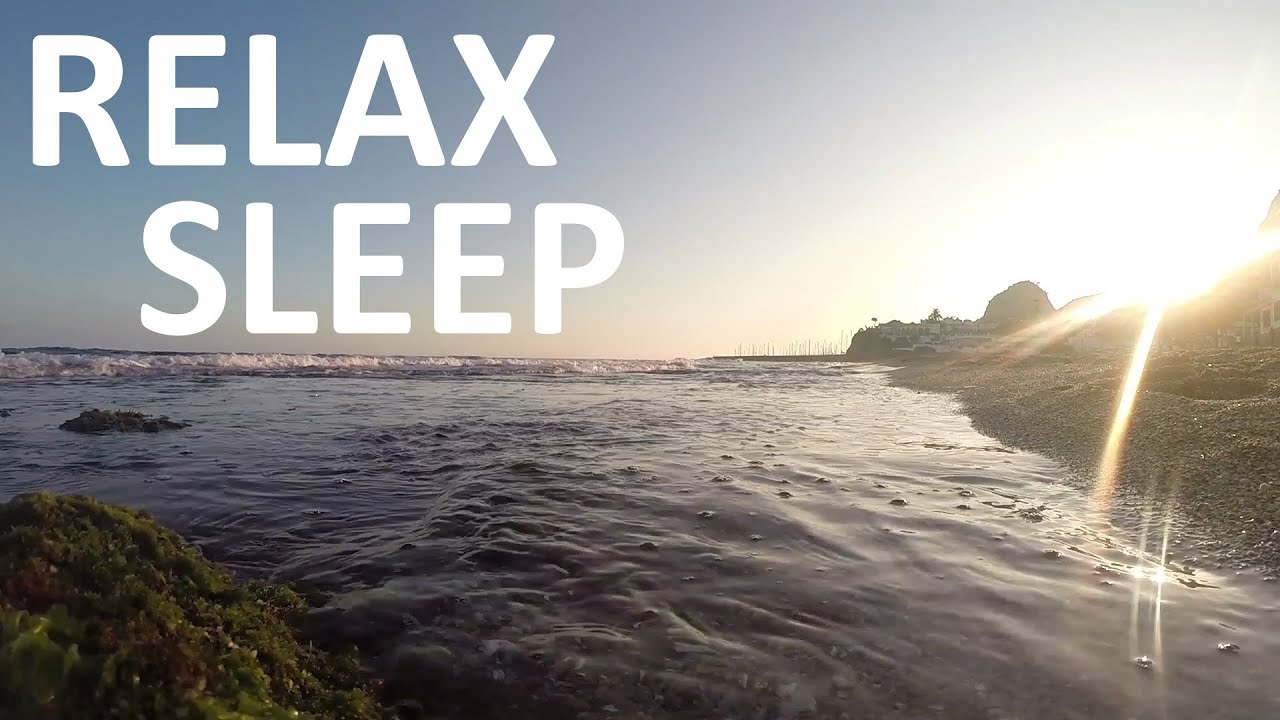 Relaxing Sounds of Waves , Ocean Sounds [ Sleep Music