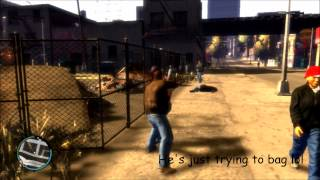 GTA IV  VS  GTA V (PS3) GRAND THEFT AUTO IV/V