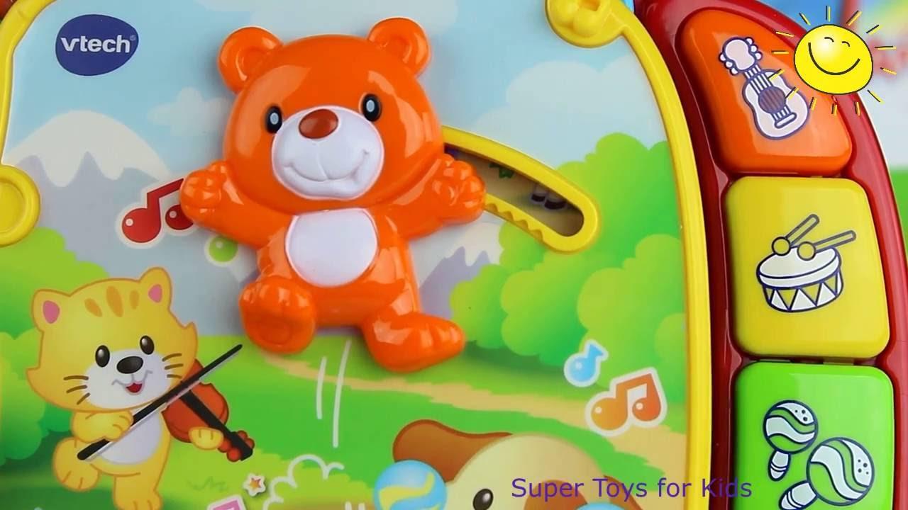 Musical Rhymes Book VTech Learn 40+ Songs Teaching Colors Nursery ...