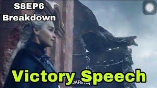 Game of Thrones Season 8 Episode 6 | Daenerys Victory speech
