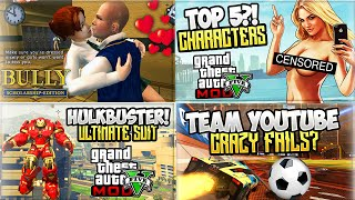 700k Gaming Montage! - (gta 5 Mods Funny Moments, Bully Game & Rocket League Ps4)