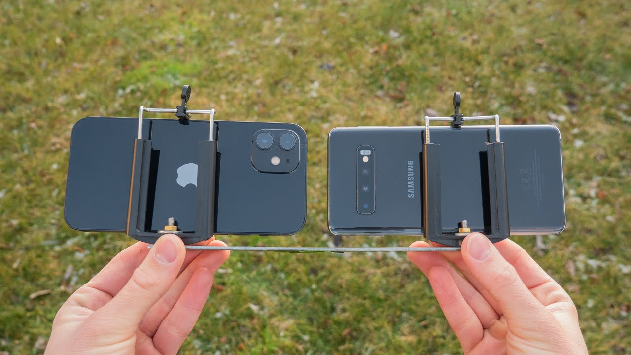 Samsung Galaxy S10 vs. iPhone 12 Camera Comparison