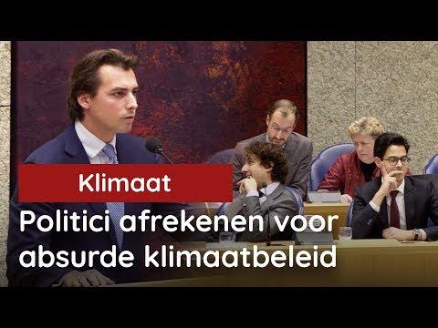 Baudet: Politici afrekenen voor omstreden klimaatbeleid