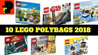 Baixar 10 Lego Polybags 2018