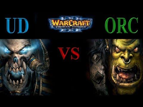 Warcraft 3 1vs1 #001 Undead vs Orc [Deutsch/German] Let's Play WC 3 The Frozen Throne