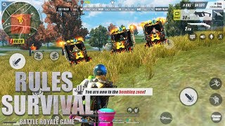 Rules of Survival - REIGN OF FIRE TUK TUK CHALLENGE!