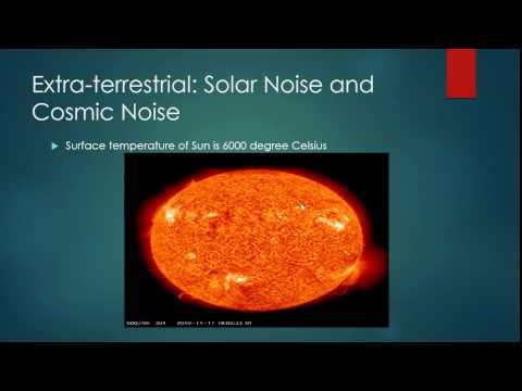 Different Type Of Noise- Extra-terrestrial Noise And Atmospheric Noise