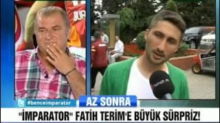 Florya çalışanları ve futbolculardan Fatih Terim'e mesaj