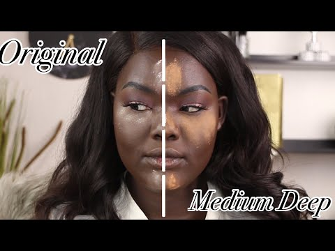 Laura Mercier Medium Deep Setting Powder vs Original Translucent|| Nyma Tang