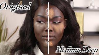 Laura Mercier Medium Deep Setting Powder vs Original Translucent|| Nyma Tang