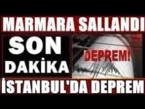 İSTANBUL'dan KÖTÜ Haber! Korkutan Şiddetli DEPREM! SON DAKİKA Açıklaması