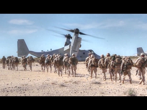 U.S. Marines Prepare For War – Integrated Training Exercise Live-Fire