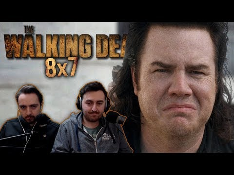 """The Walking Dead Season 8 Episode 7 REACTION """"Time For After"""""""