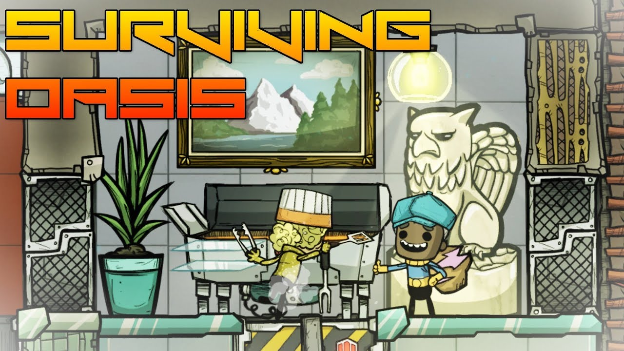 Remodeling The Kitchen! Oxygen Not Included ep16