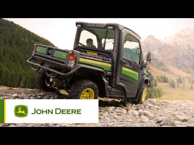 Pojazdy użytkowe John Deere - Opcja pełnego napędu 4WD