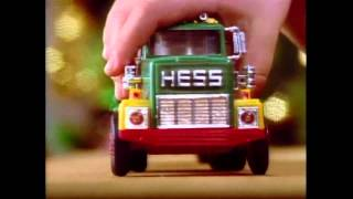 1984 Hess Toy Truck Commercial