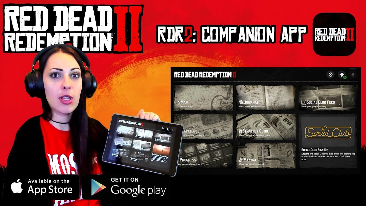 RED DEAD REDEMPTION 2 Walkthrough Part 3 - TRYING OUT THE COMPANION APP