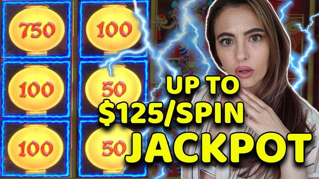 JACKPOT on LIGHTNING LINK up to $125 a spin IN LAS VEGAS!