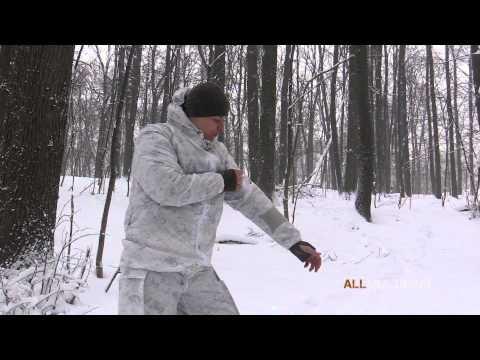 Зимний маскировочный халат Duro VERTX
