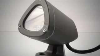 видео подсветка газонов