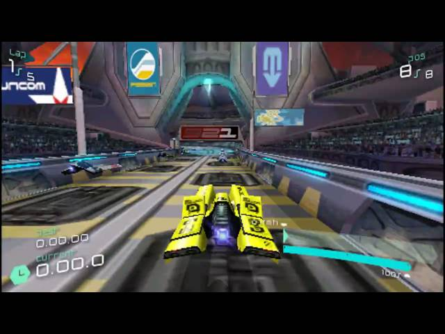 WipEout PULSE - The Amphiseum - Phantom