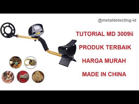 Metal Detector Indonesia - Tutorial MD 3009ii made China TERBAIK