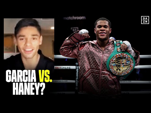 Ryan Garcia UNCUT On Devin Haney, Says What Has To Happen Before They Fight