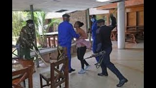 What a Shock!!!!!! Police Caught On Camera Beating Up Mlango Kubwa MCA Patricia Mutheu