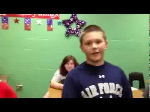 Alma Middle School Students Celebrate Constitution Day