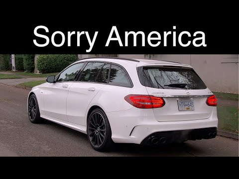 Mercedes C43 AMG Wagon // The best Mercedes you can't buy in the USA