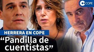"""Herrera y el """"mal perder"""" del PSOE tras su """"ridículo en Madrid"""""""