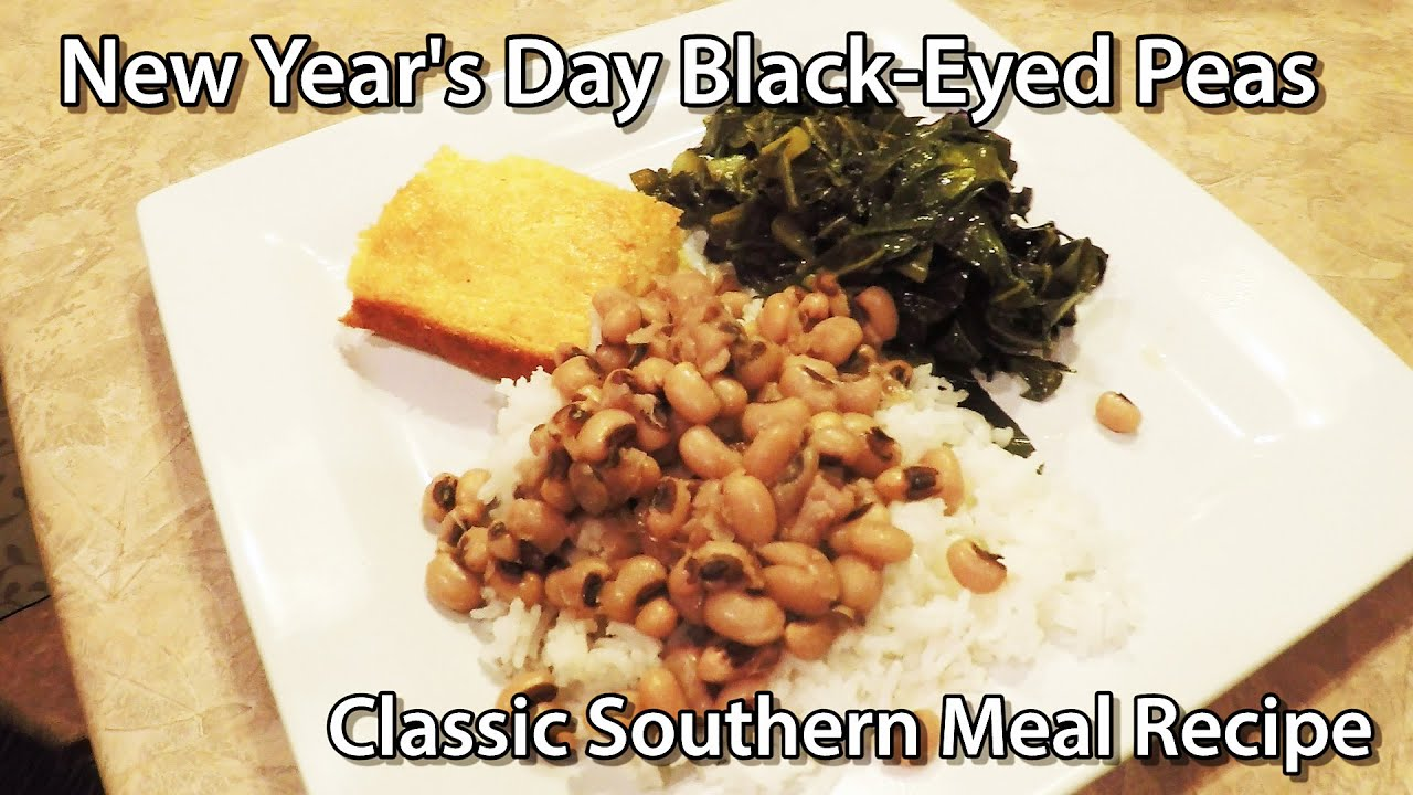 New years day black eyed peas southern meal youtube forumfinder Image collections