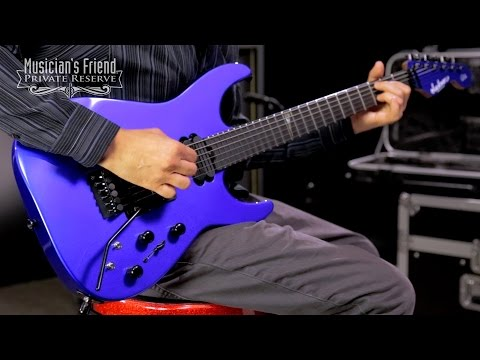 Jackson USA Signature Phil Collen PC1 Shred Electric Guitar, Sapphire Blue