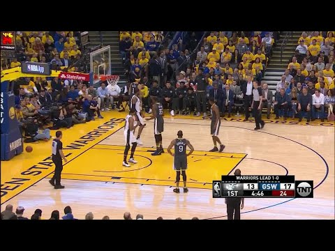 1st Quarter, One Box Video: Golden State Warriors vs. San Antonio Spurs