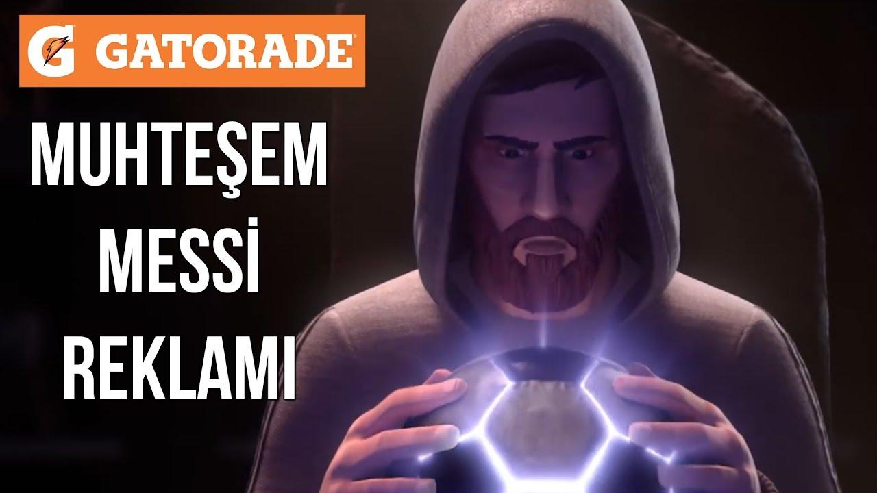 Gatorade Muhteşem Messi Reklamı | Türkçe Altyazılı • HD