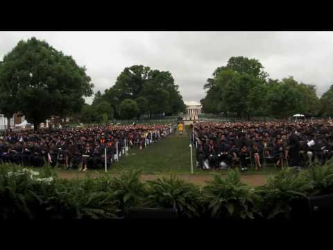 University of Virginia Economics Graduation 2016