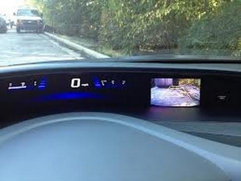 2012 Honda Civic Reverse Camera using the IMID Screen (OEM Screen