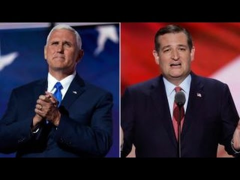 Political panel weighs in on Pence, Cruz speeches