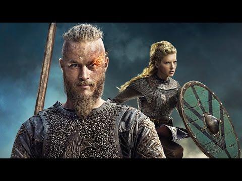 Vikings - Travis Fimmel, Katheryn Winnick and Michael Hirst Season 3 Interview - Comic Con 2014