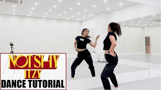 "ITZY ""Not Shy"" Lisa Rhee Dance Tutorial"
