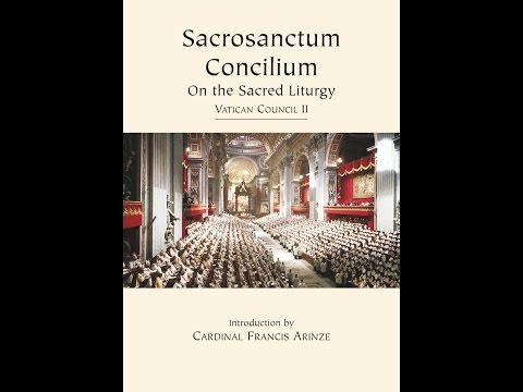 Sacrosanctum Concilium ~ Fr Smith
