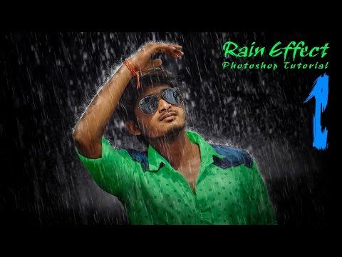 Rain Effects Photoshop Tutorial Part -1