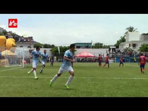 Video: Sanarate 2-1 Municipal - Apertura 2017